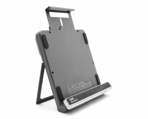 EyeMobile Plus purpose-built bracket solution for mobile communication and computer access for completely hands-free access to Windows 10.