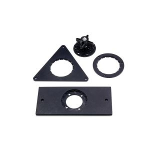 "Universal Mounting Plate for switches. It is a ¼""x20 standard thread. This is compatible with all AbleNet mounting systems."