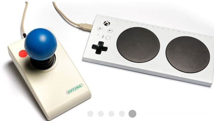 optima joystick Light touch joystick movement (0.5 Newtons). Precise tracking and cursor control. Four Cursor speed settings (With Audible Alert). Double click option