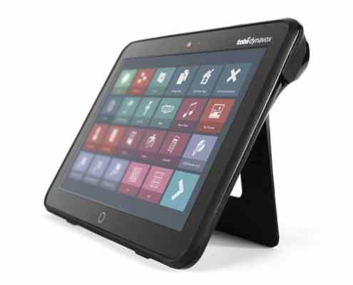 The Tobii Dynavox I-110 is the ultimate speech-generating device for Augmentative and Alternative Communication (AAC), tailored for real life.