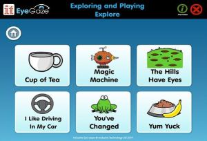 Inclusive Eye Gaze: Attention and Looking 18 fun and meaningful eye-gaze activities