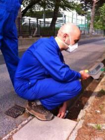Measuring the soil