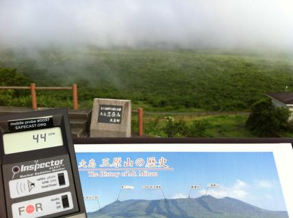Mihara Volcano, 44 CPM