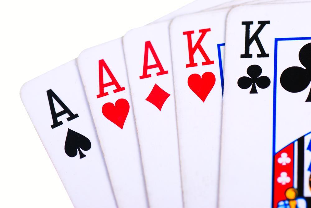 Full House Poker Hand