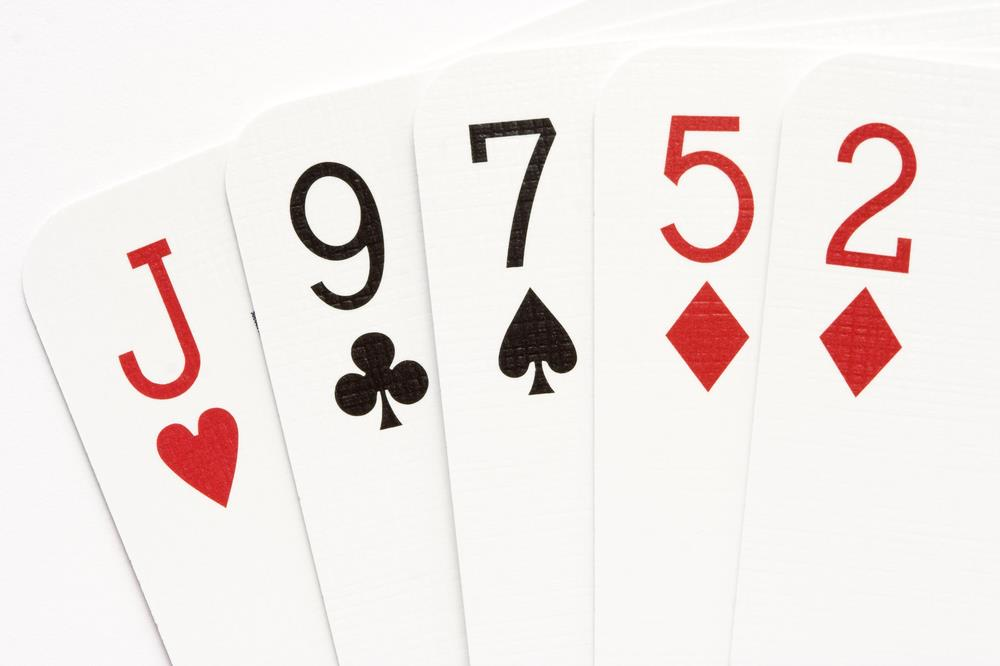 High Card Poker Hand