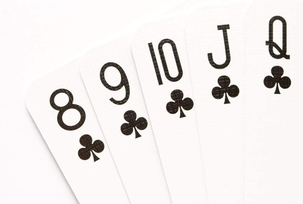 Straight Flush Poker Hand