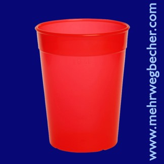 9031-2-reusable-cup-0,4l-pp-red-plastic