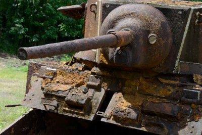 WWII tank, Solomon Islands