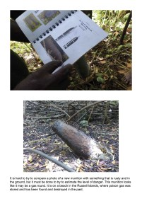 Solomon Islands Exhibition Bombs UXO Identification A2