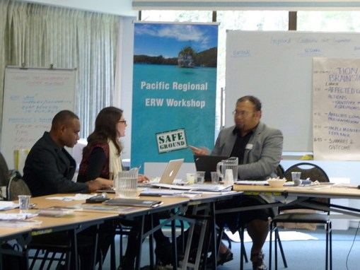 Remnants of war: Pacific workshop in Brisbane