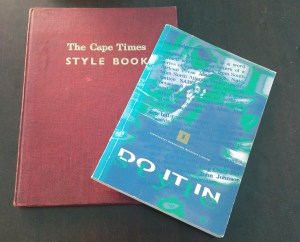Two style guide books