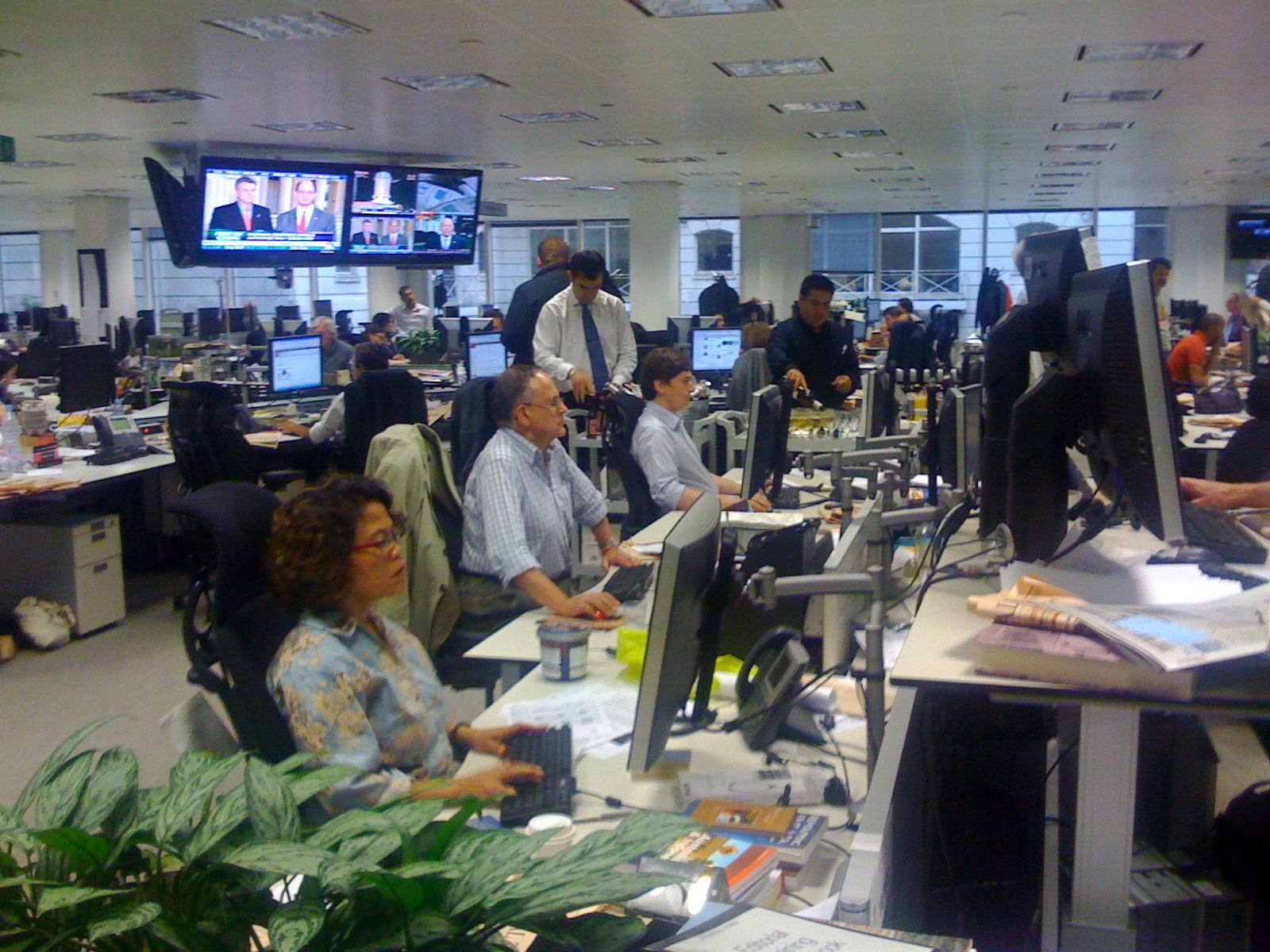What journalists do – the narrowing of the eyes
