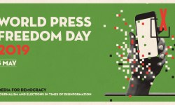 World Press Freedom Day 2019 logo