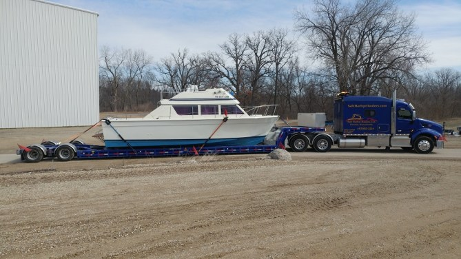 Chris Craft Powerboat Transport
