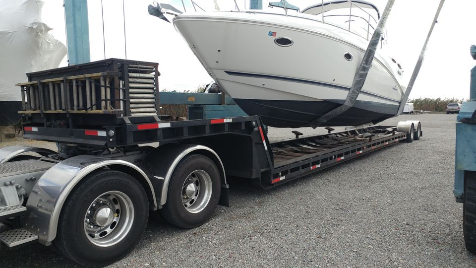 Boat shipping, yacht transport, boat hauling service