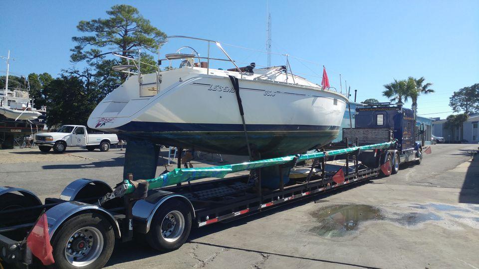 Yacht transport, Boat hauling service, yacht transport, boat shipping