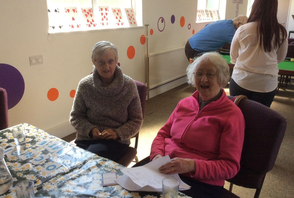Clients practise their foreign language skills at Safe Haven