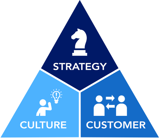 Strategy-Culture-Customer triangle