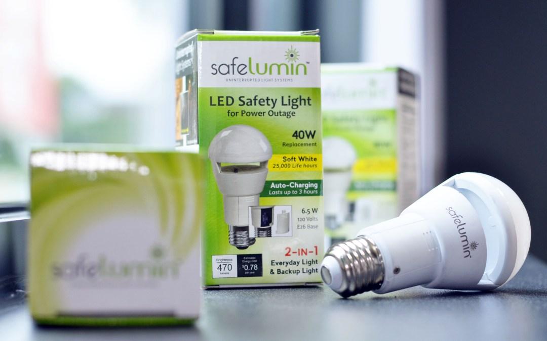 Introducing the Uninterrupted Light System – SafeLumin Lightbulb