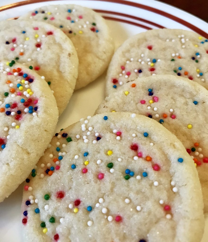 Soft and Chewy Egg Free Sugar Cookies