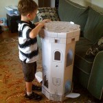Eco-Friendly Castle Tower Craft by Imagination Box Co. (Giveaway!)