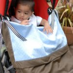 Alternative to PVC Stroller Rain Covers: Plum Tots GO Blankie