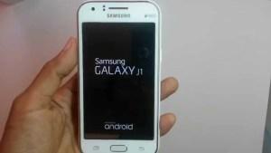 Safe Mode on Samsung Galaxy J1