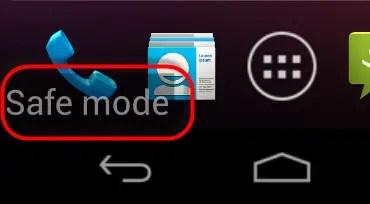 Enable Safe Mode on Samsung Galaxy Folder2