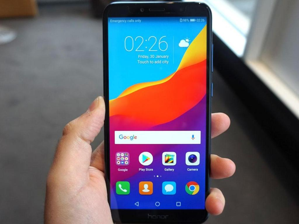How to boot into safe mode on Honor 7A