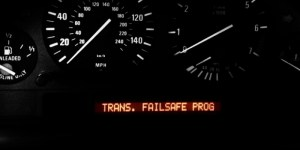 What is BMW transmission failsafe mode?