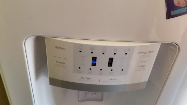 Power outage | How to reset the Samsung Refrigerator control panel