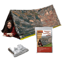 Grizzly Gear  Mylar Disaster Survival Backpacking Shelter tent for camping