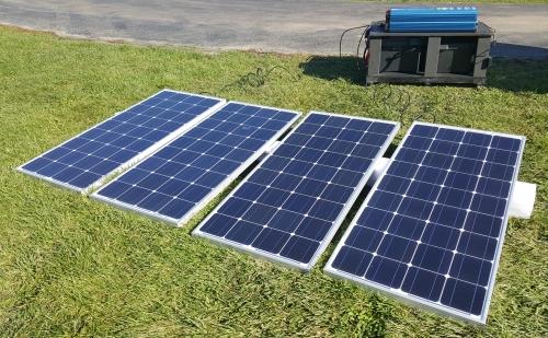12000 Watt Solar Powered Mega Generator with 60 Amp Charge ...