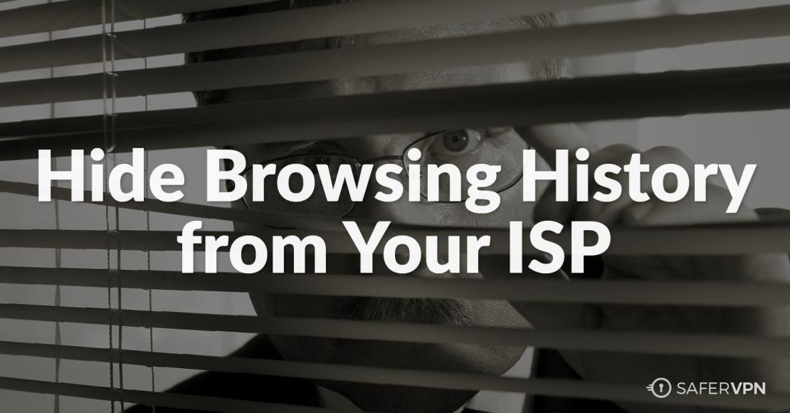 stop ISP from tracking browsing history