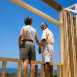 couple building a new home
