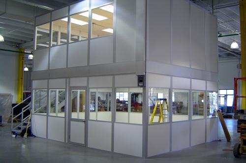 Interior Enclosures Modular Buildings SafeSpace Buildings