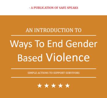 Gender based violence ending strategies E-book