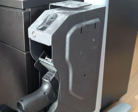 biometric gun safe for truck