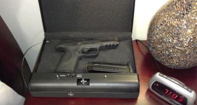 cannon biometric gun safes