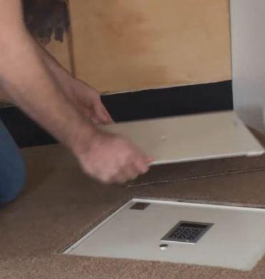 digital floor safe