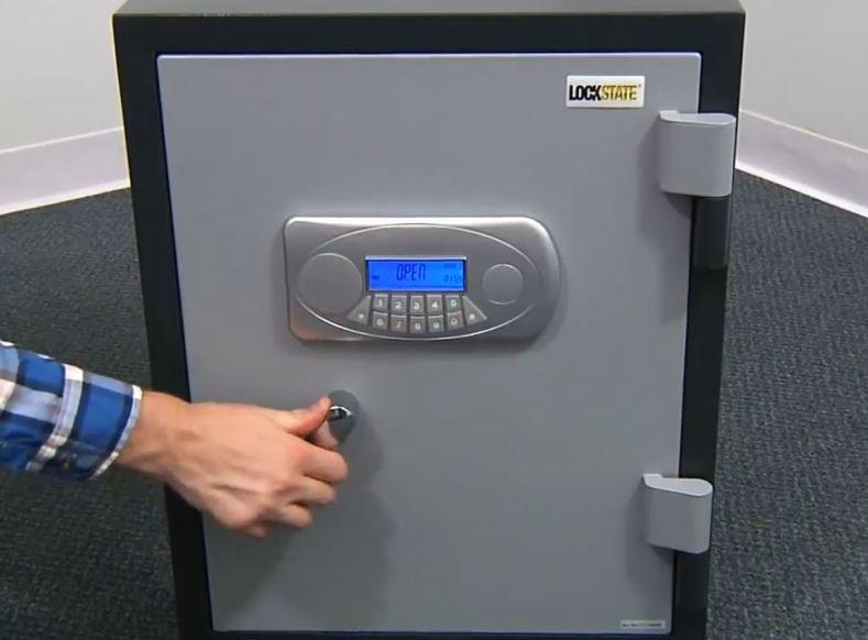 fireproof digital safe