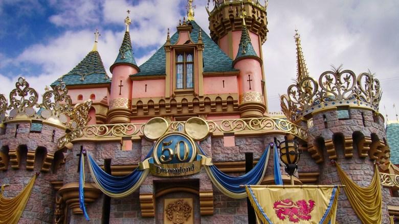 Cinderella Castle im Disneyland Park