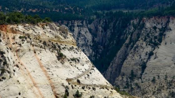 Trail zum Observation Point