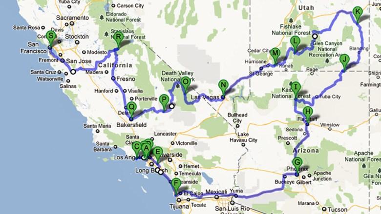 USA Rundreise 2006 - Southwest Explorer Tour