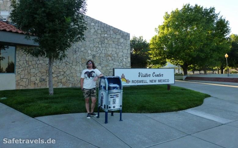 Der legendäre R2-D2-Briefkasten