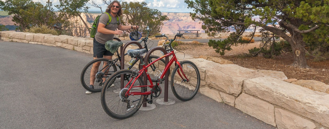 Biking Grand Canyon Blog Titel
