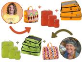 Koffer packen Packwürfel
