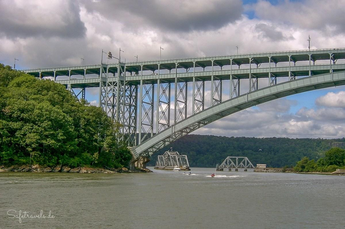 Henry Hudson Bridge an Manhattans Nordspitze
