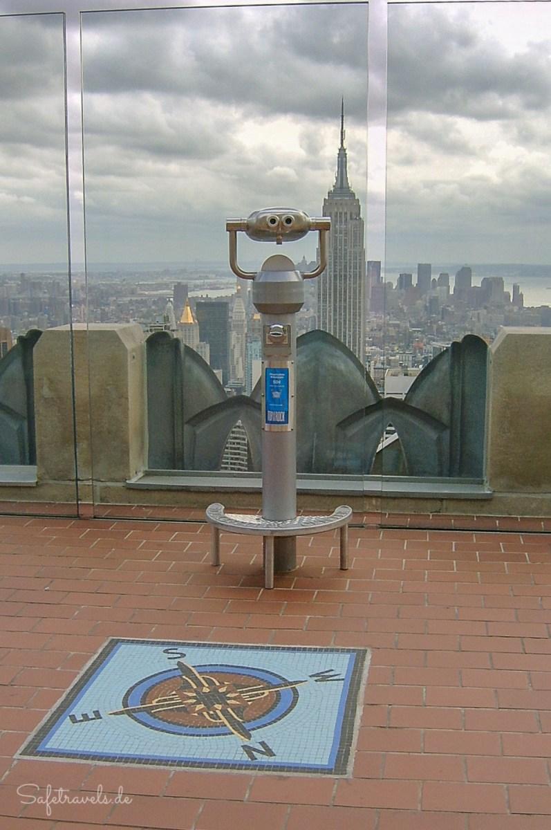 Top of the Rock - New York von oben