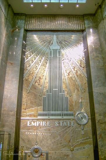 Eingangshalle im Empire State Building
